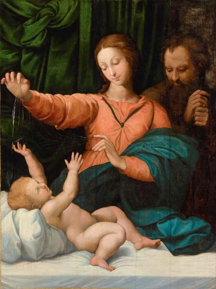Święta Rodzina (Madonna del Velo; Madonna di Loreto) - Rafael Santi