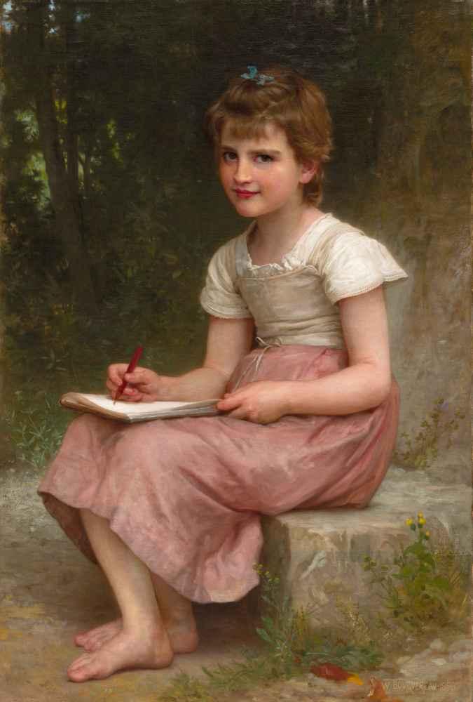 A Calling - William-Adolphe Bouguereau
