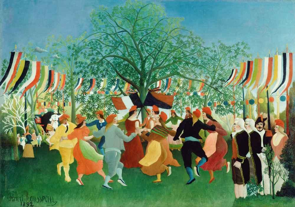 A Centennial of Independence - Henri Rousseau