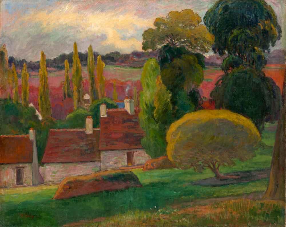 A Farm in Brittany - Paul Gauguin
