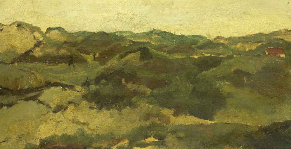 A Heath Landscape, Presumably in Drenthe - George Hendrik Breitner