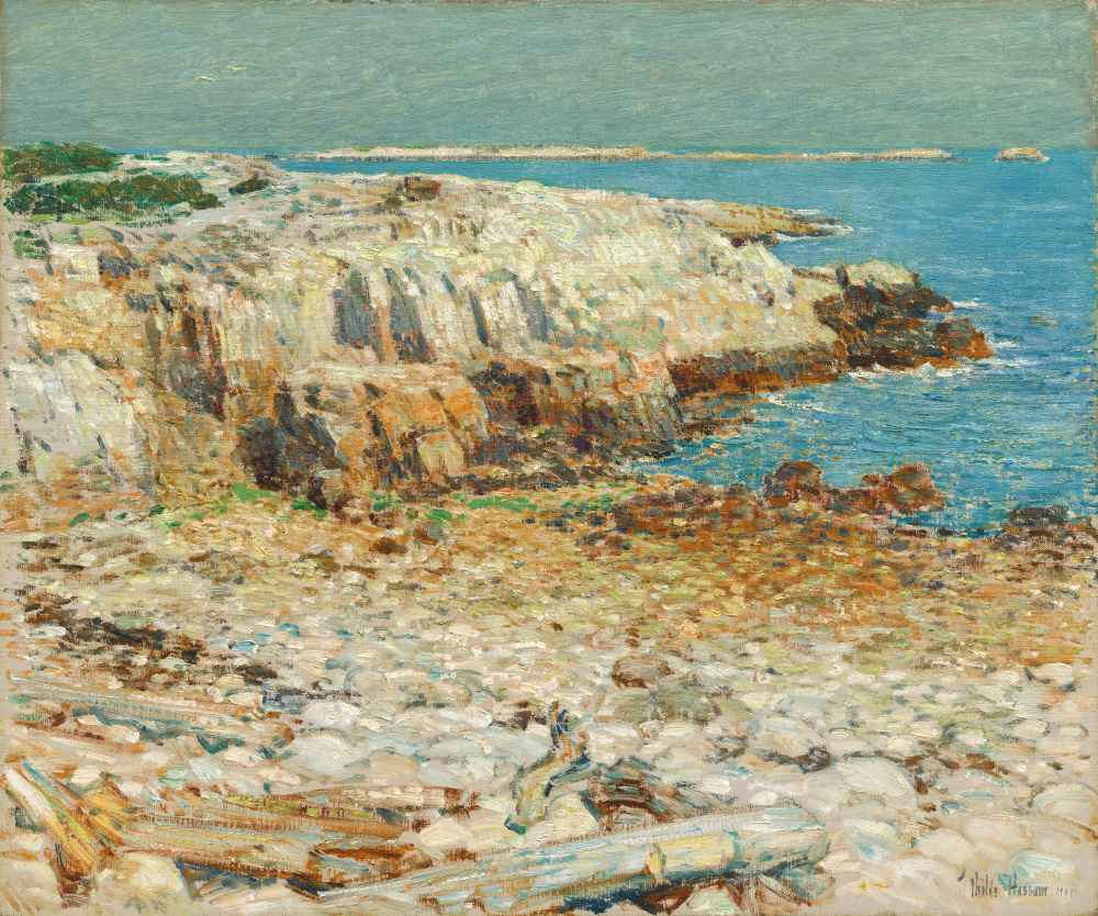 A North East Headland - Childe Hassam