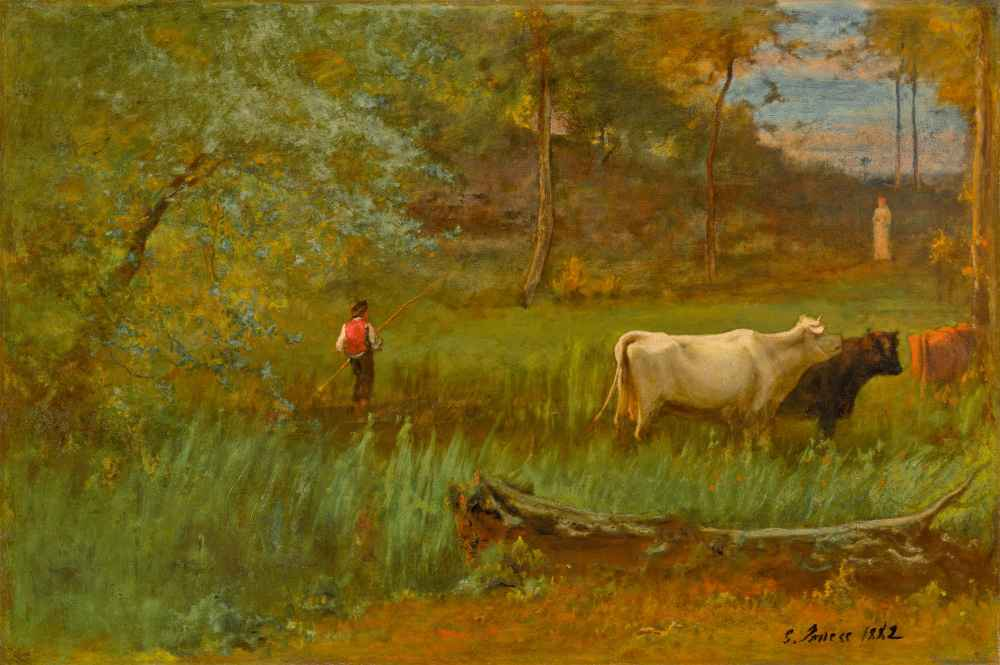 A Pastoral - George Inness