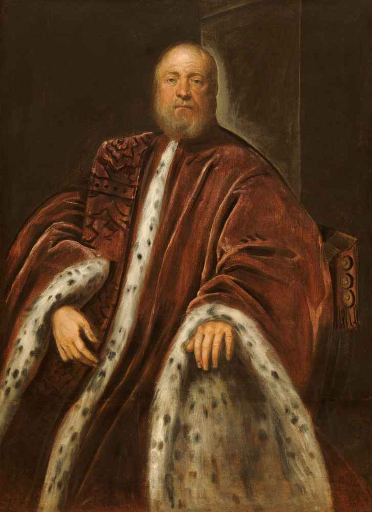 A Procurator of Saint Marks - Jacopo Tintoretto