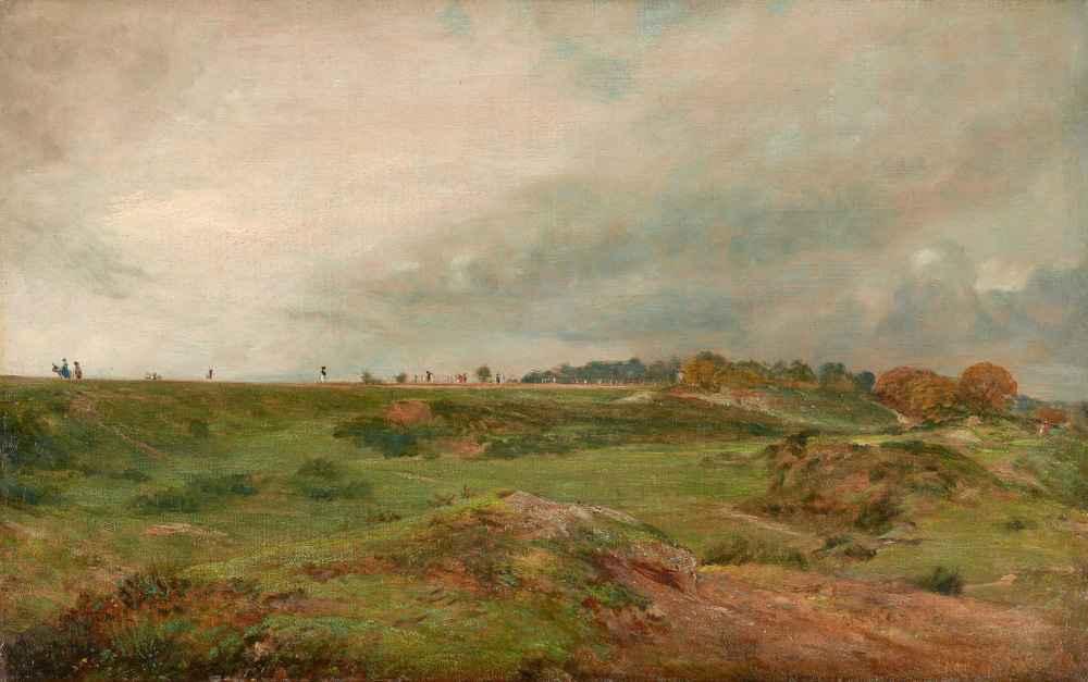 A Road across Hampstead Heath - John Constable