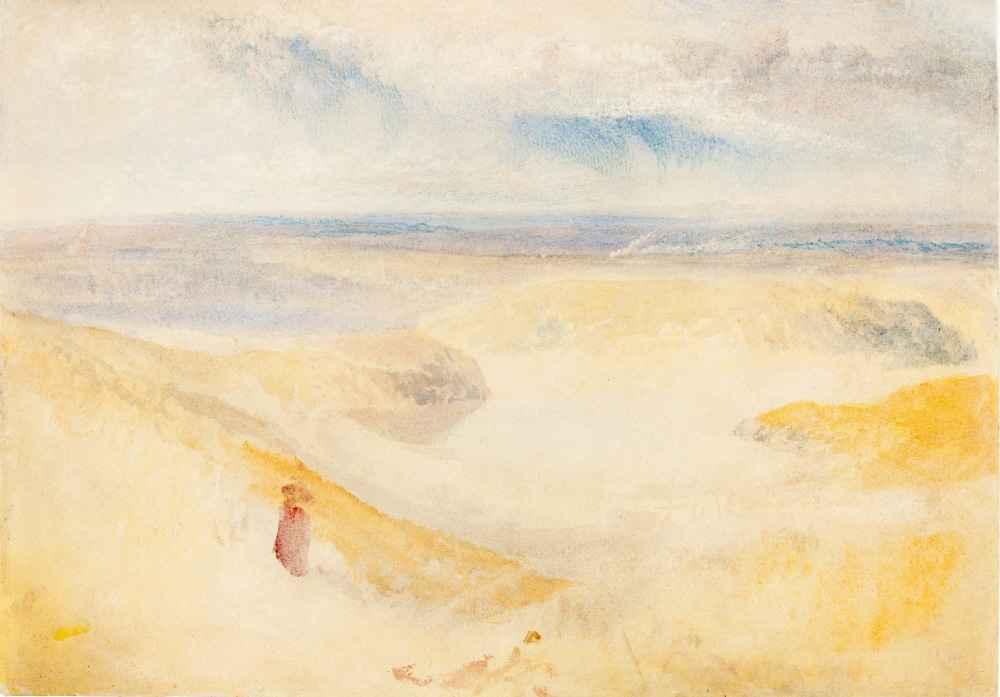 A Yorkshire River - Joseph Mallord William Turner