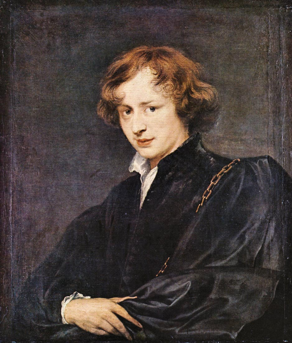 A self portrait - Van Dyck