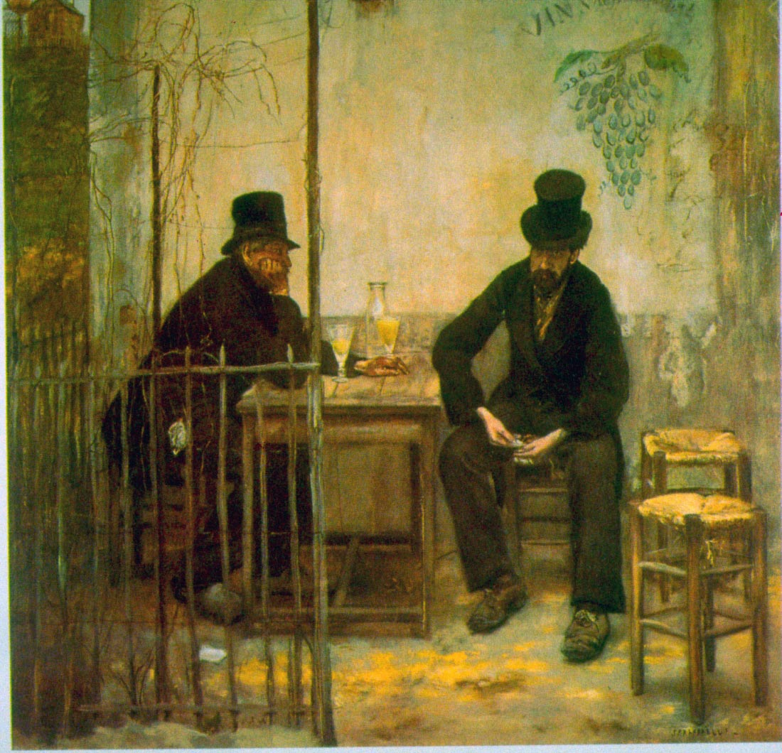 Absinthe Drinkers - Raffaelli