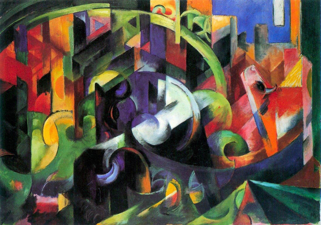 Abstract with cattle - Marc