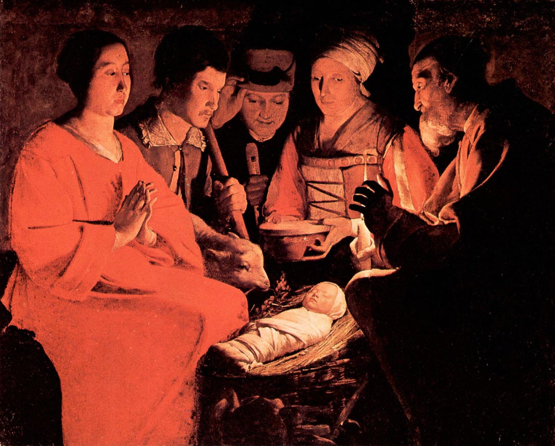 Adoration of the Shepherds - La Tour