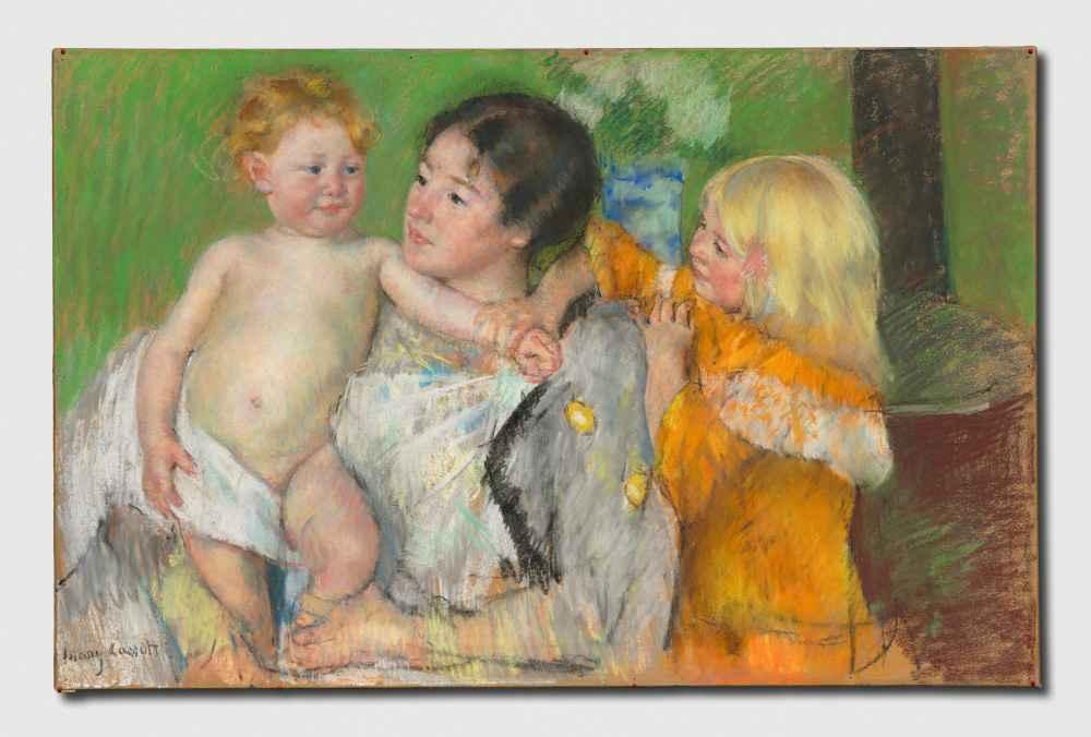 After the Bath 2 - Mary Cassatt