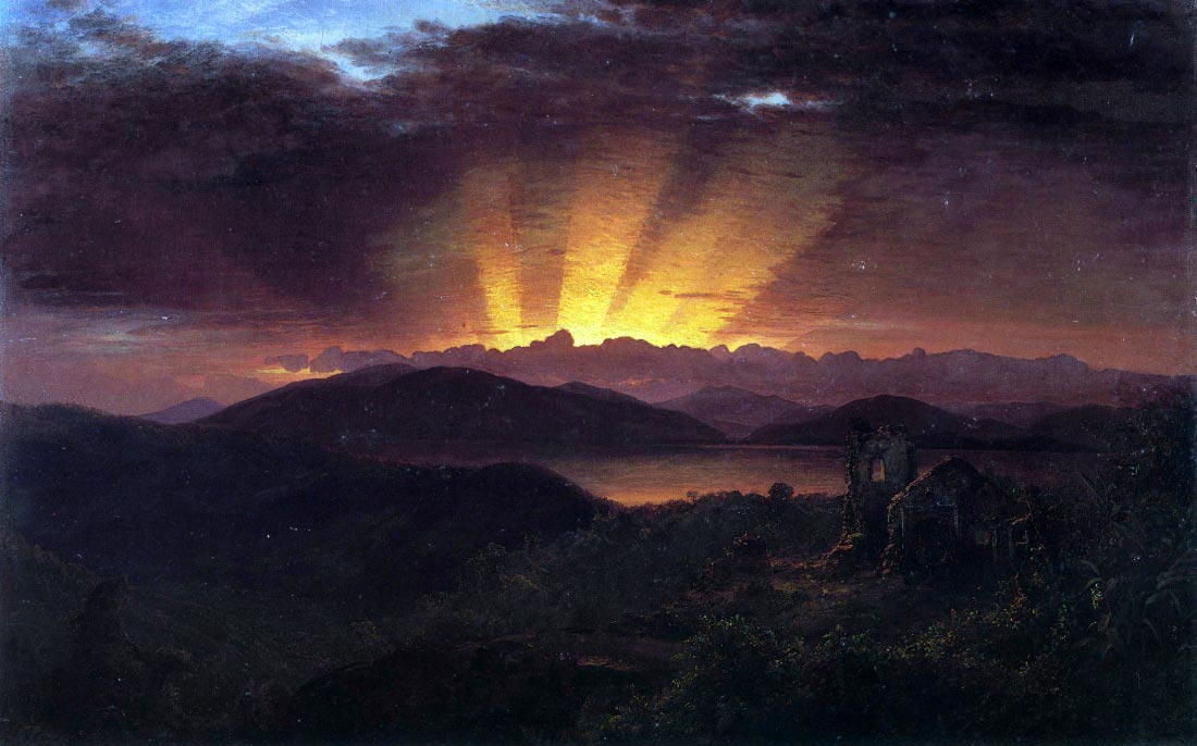 After the annealing - Frederick Edwin Church
