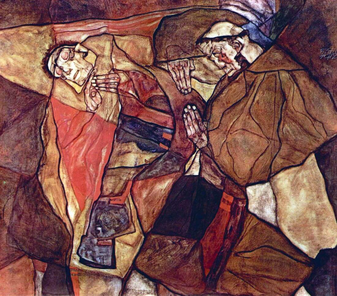 Agony (The Death Struggle) - Schiele