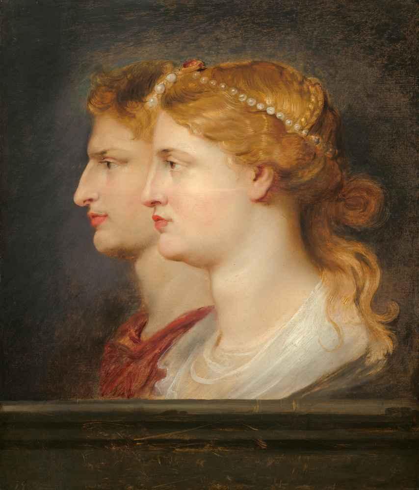 Agrippina and Germanicus - Peter Paul Rubens