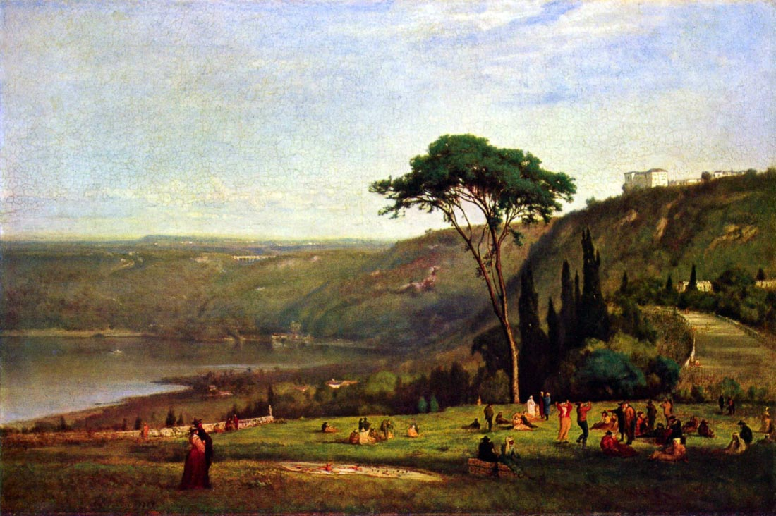 Albanersee - George Inness
