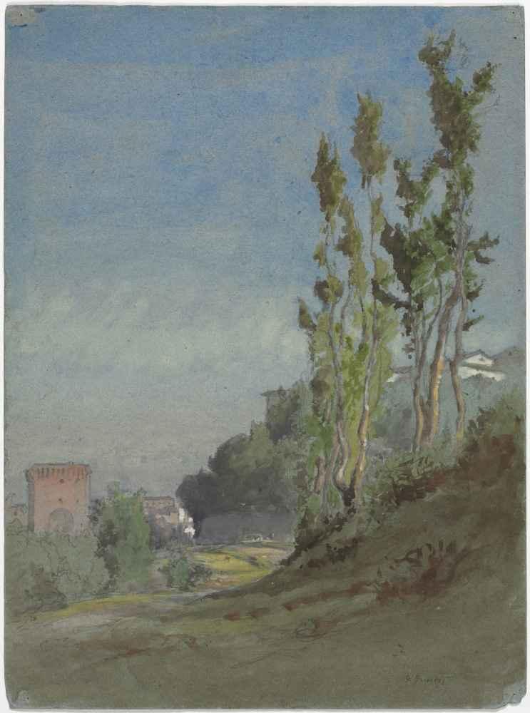 Albano, Italy - George Inness