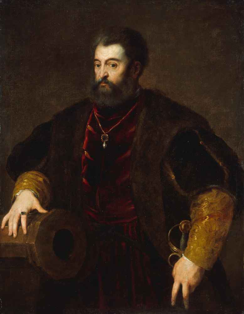 Alfonso dEste (1486–1534), Duke of Ferrara - Tycjan