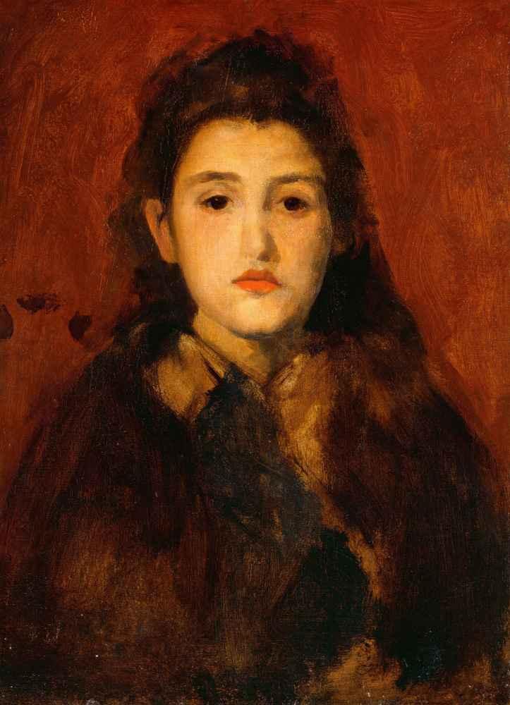 Alice Butt - James Abbott McNeill Whistler