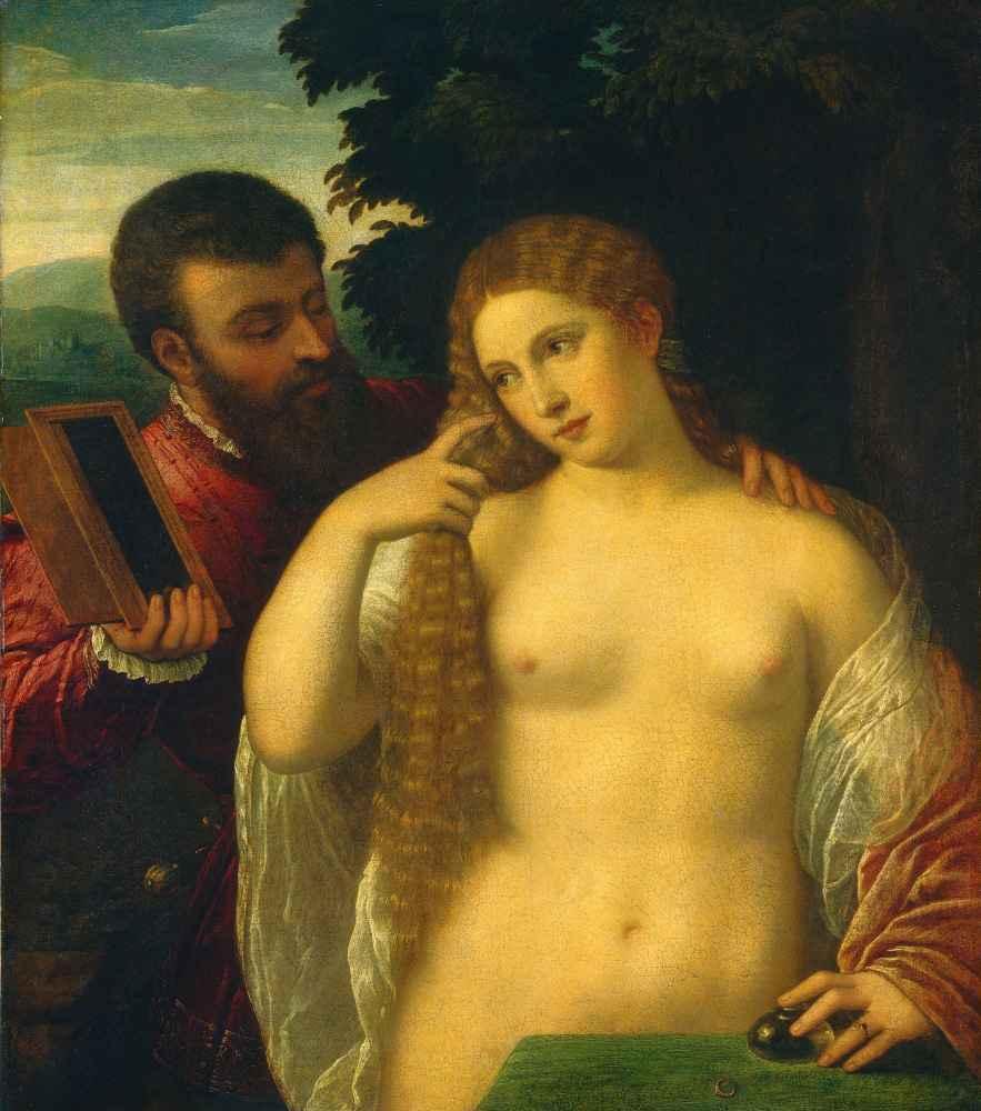 Allegory of Love - Tycjan