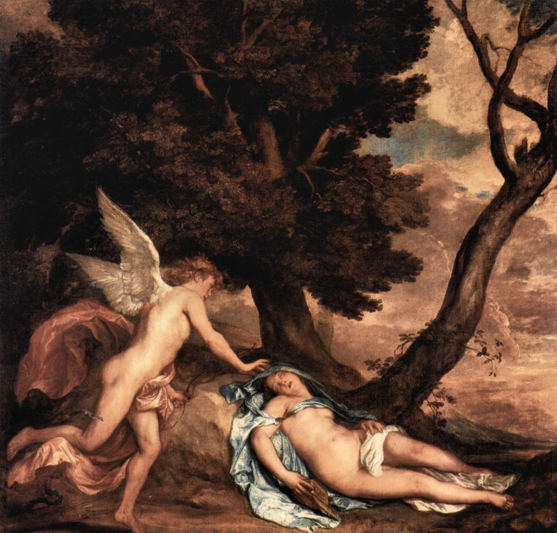 Amour and Psyche - Van Dyck