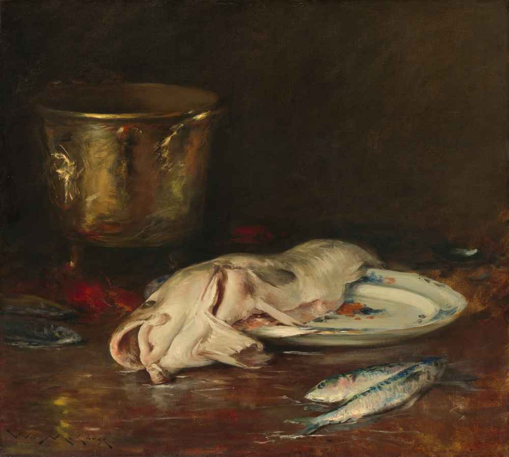 An English Cod - William Merritt Chase