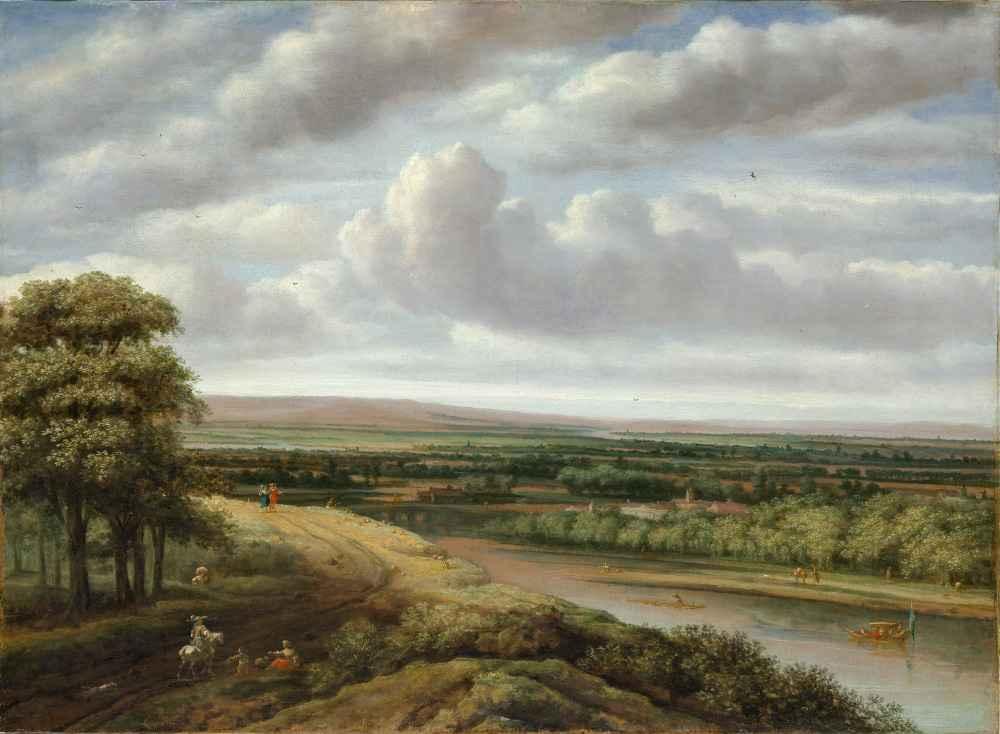 An Extensive Wooded Landscape - Philips Koninck