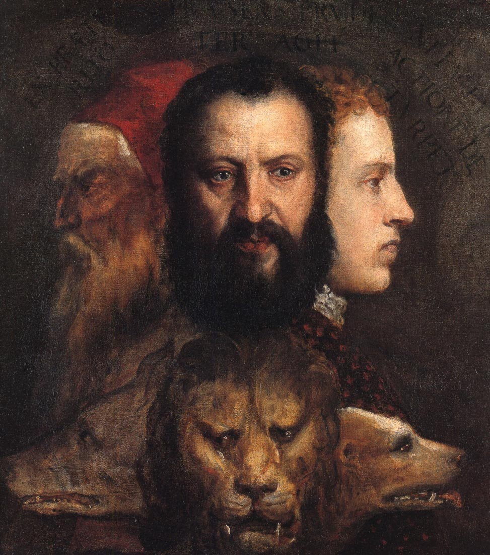 An allegory of prudence - Titian