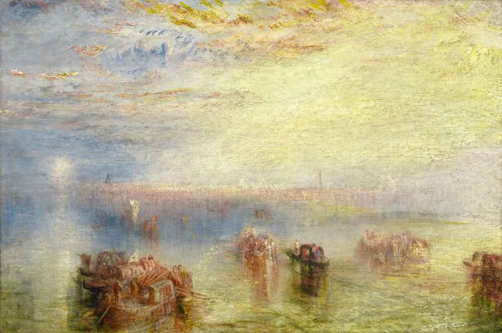 Approach to Venice - Joseph Mallord William Turner