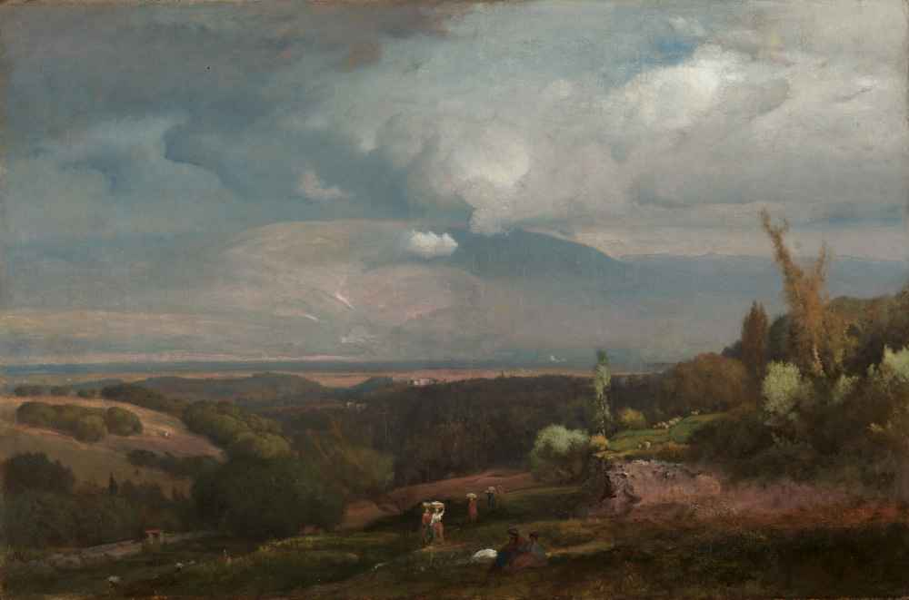 Approaching Storm from the Alban Hills - George Inness