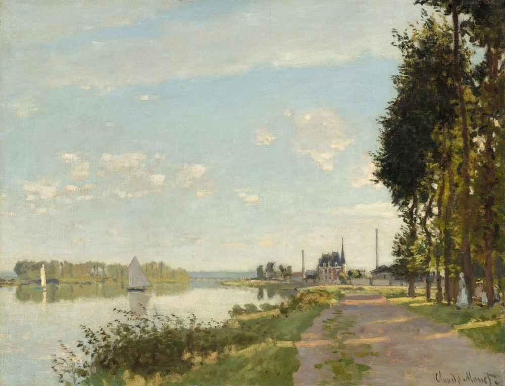 Argenteuil 3 - Claude Monet