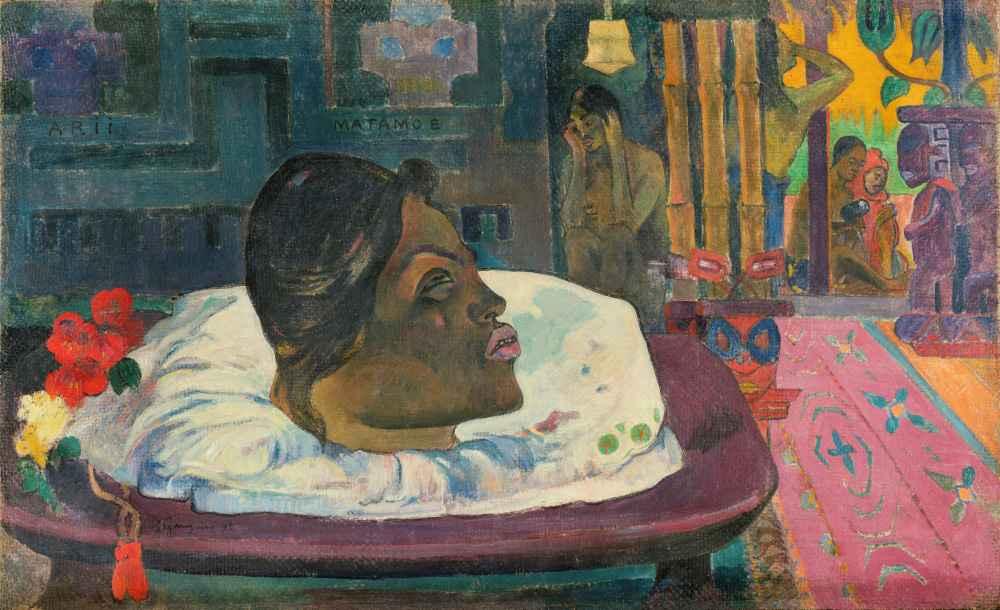 Arii Matamoe (The Royal End) - Paul Gauguin