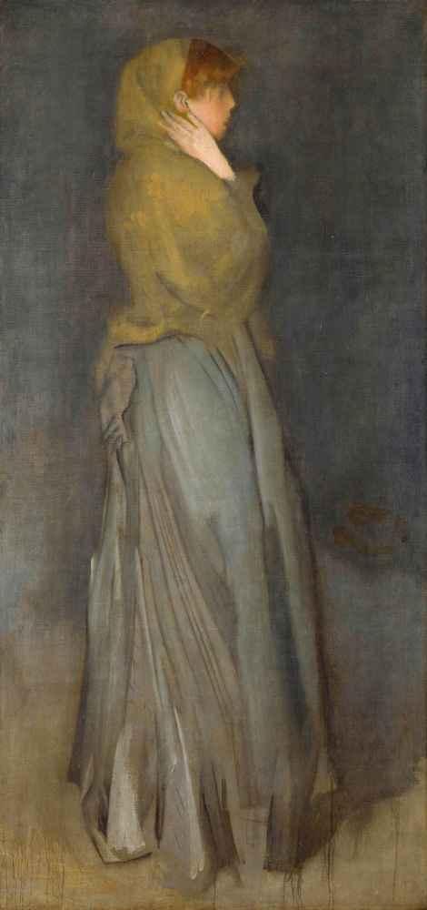 Arrangement in Yellow and Gray Effie Deans - James Abbott McNeill Whis
