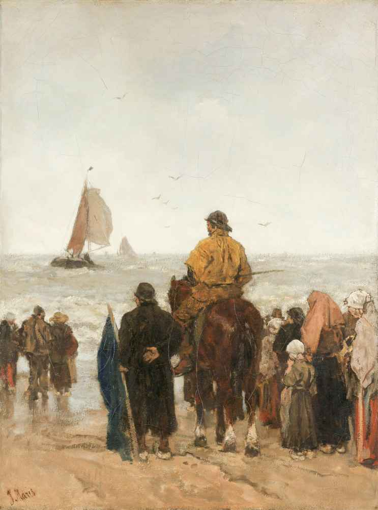 Arrival of the Boats - Matthijs Maris