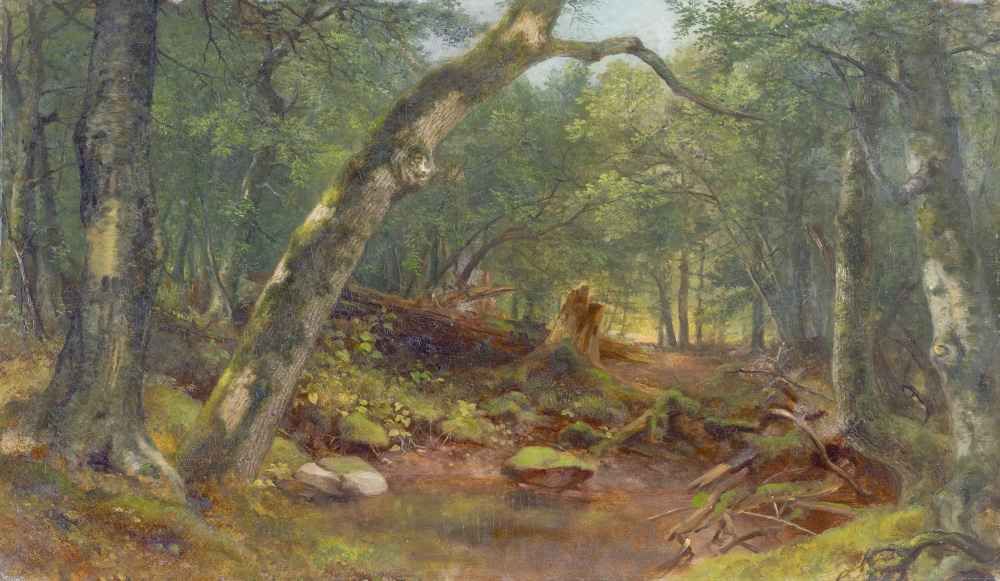 Artists' Lane after a Shower - Asher Brown Durand