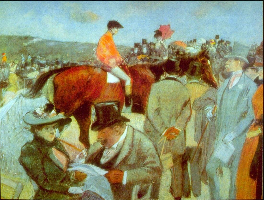 At the Races - Forain