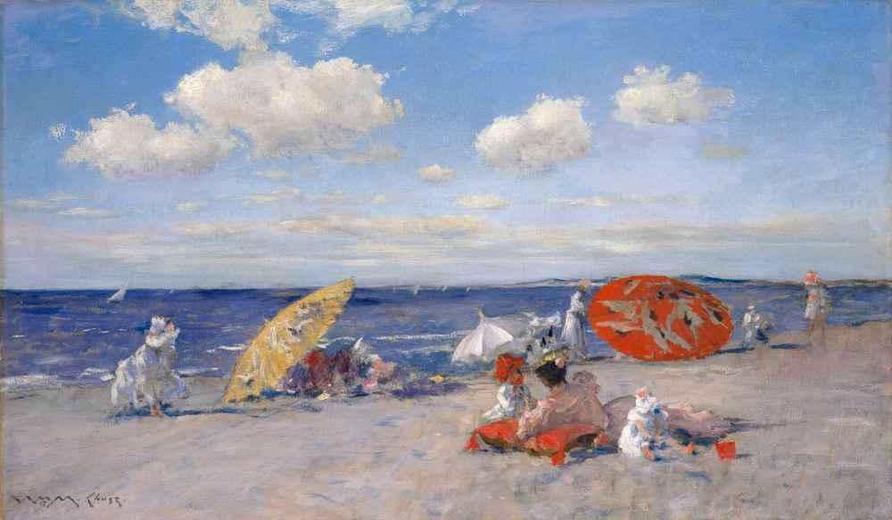 At the Seaside - William Merritt Chase