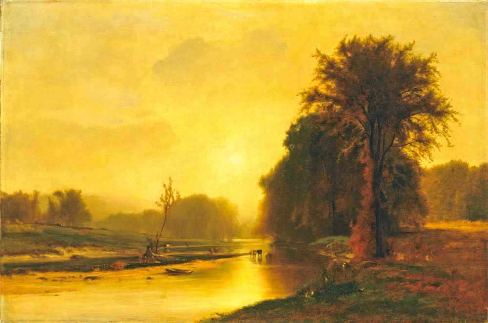 Autumn Meadows - George Inness