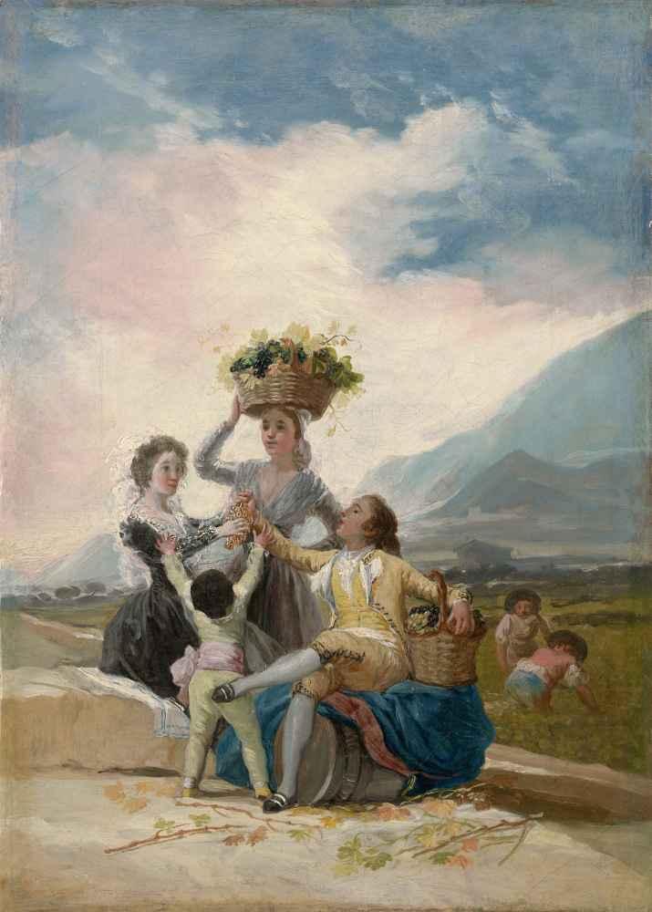 Autumn - Francisco Goya