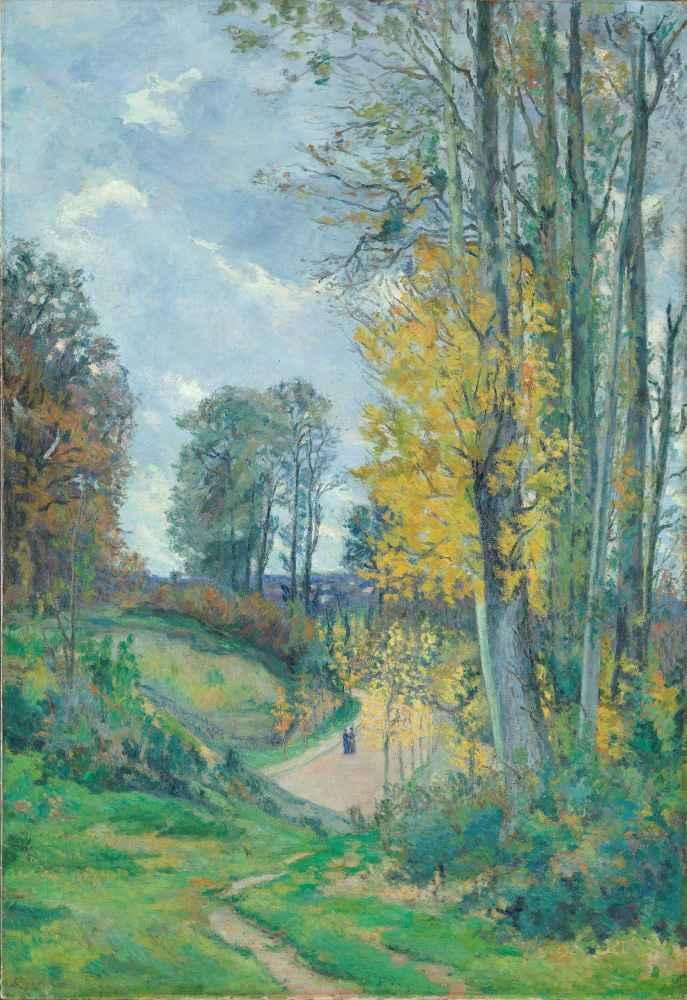 Autumn landscape - Armand Guillaumin