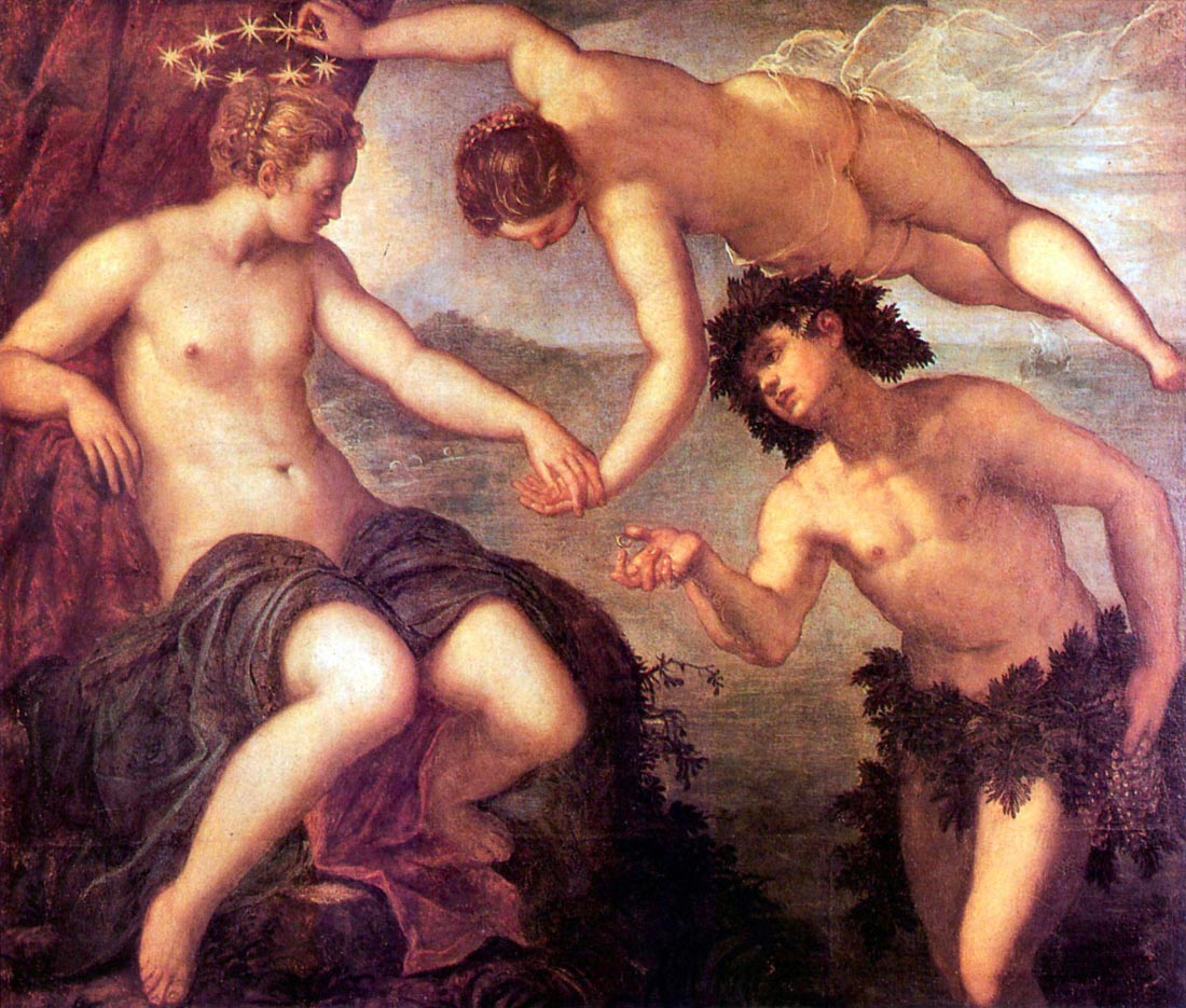 Bacchus and Ariadne - Tintoretto