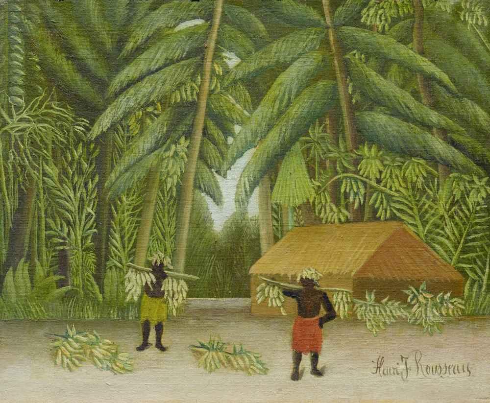 Banana Harvest - Henri Rousseau