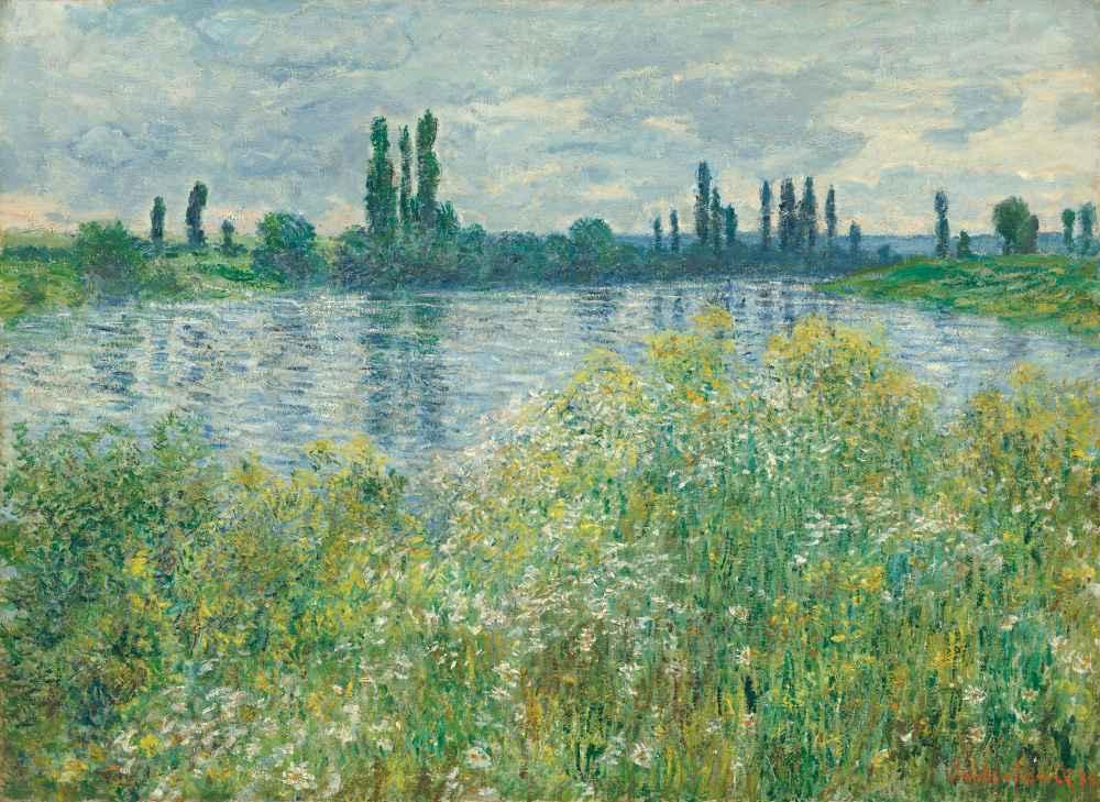 Banks of the Seine, Vétheuil - Claude Monet