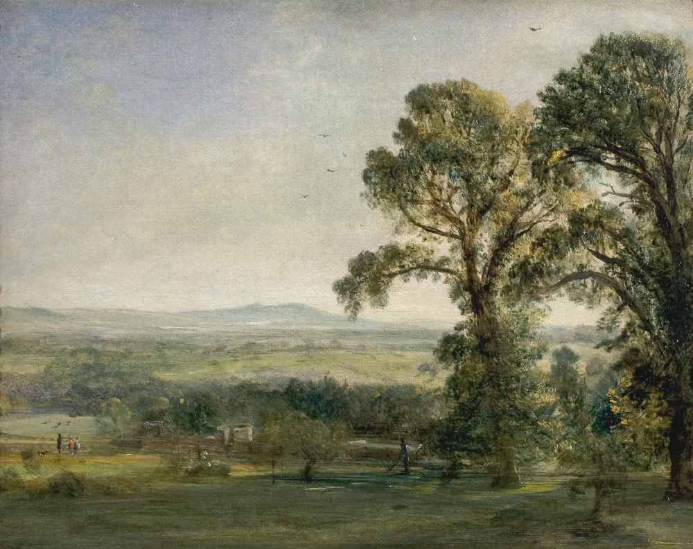 Bardon Hill, Coleorton Hall - John Constable