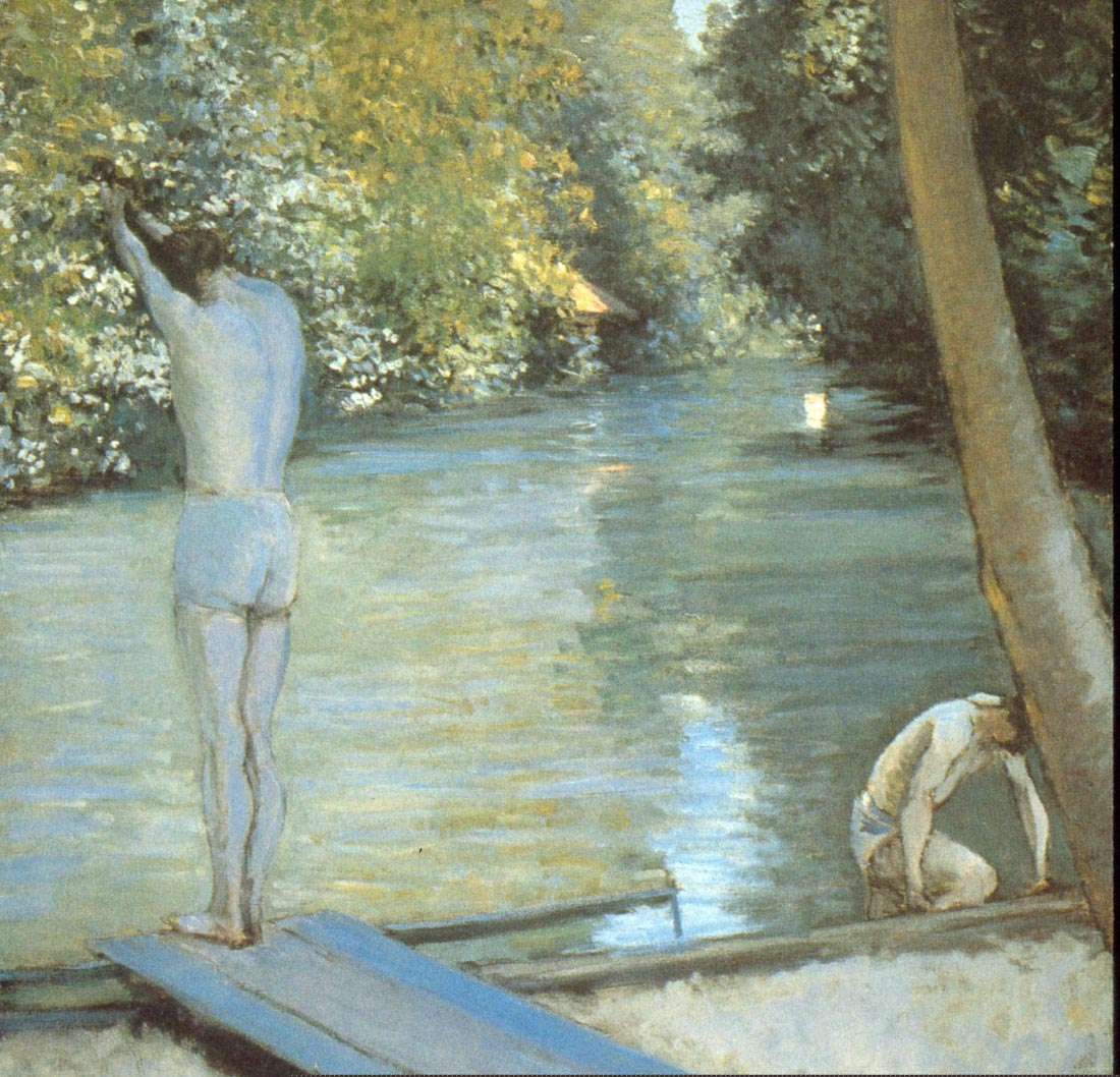 Bathers - Caillebotte