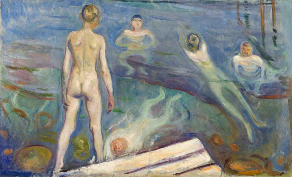 Bathing Boys - Edward Munch