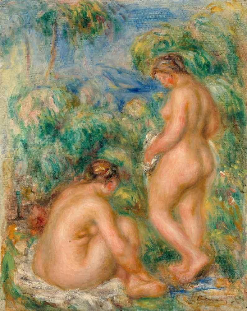 Bathing women - Auguste Renoir