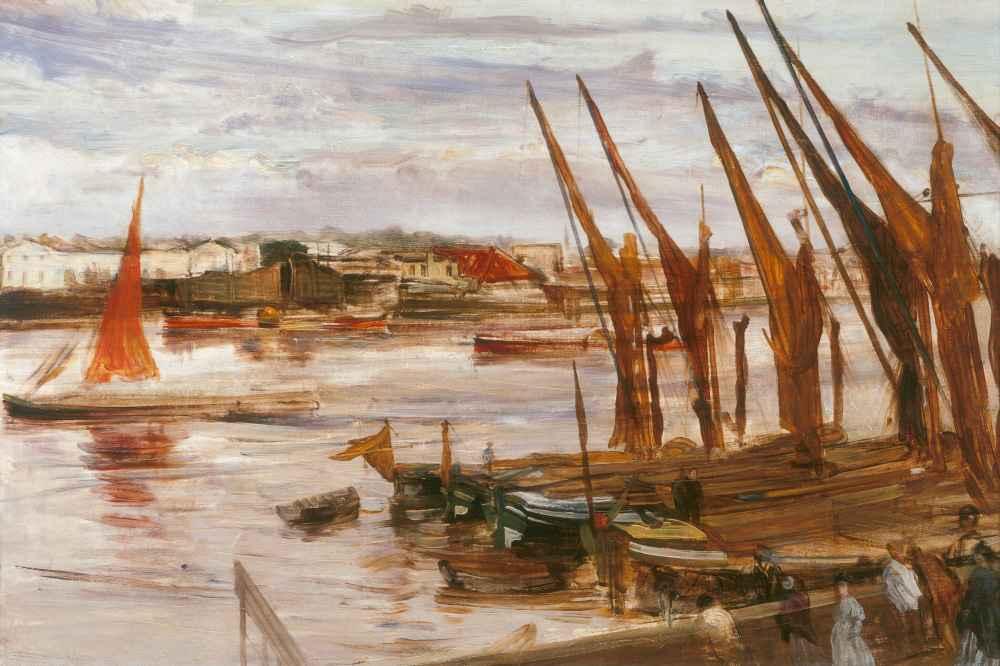 Battersea Reach - James Abbott McNeill Whistler