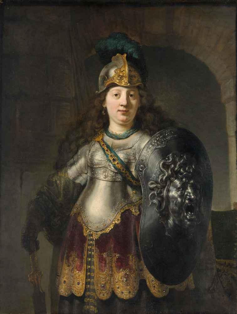 Bellona - Rembrandt Harmenszoon van Rijn