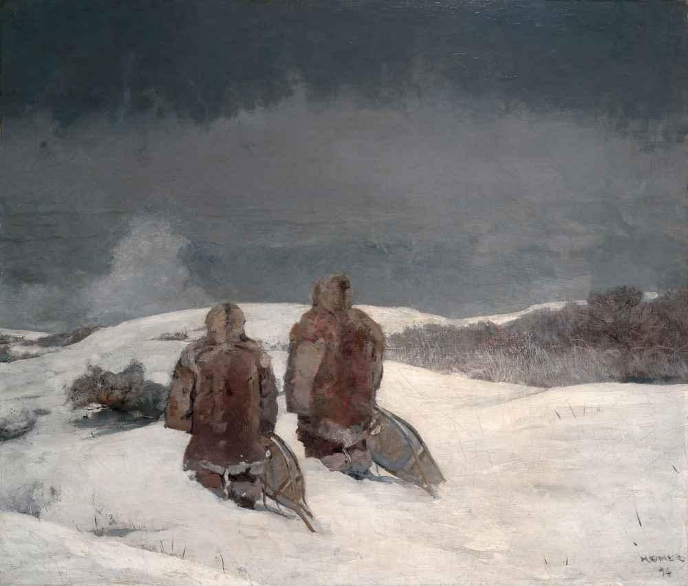 Below Zero - Winslow Homer