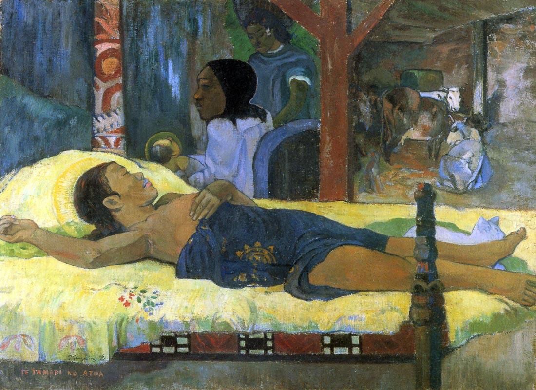 Birth of Christ Son of God Tetemari - Gauguin